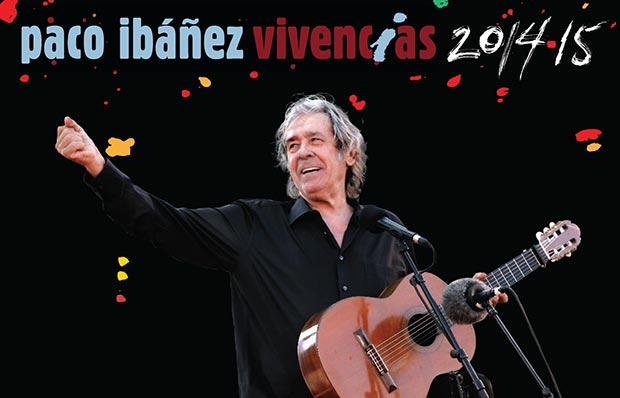 Paco Ibáñez «Vivencias» octubre 2014/noviembre 2015