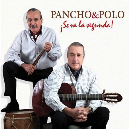 Portada del disco «Se va la segunda» de Pancho Figueroa y Polo Román.