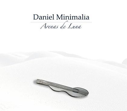 Portada del disco «Arenas de Luna» de Daniel Minimalia.