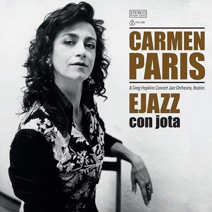 Portada de la reedición del disco «Ejazz con jota» de Carmen París.