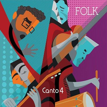 Portada del disco «Folk» de Canto 4.