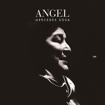 Portada del single «Ángel» de Mercedes Sosa.
