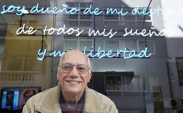 Víctor Casaus © Daniel Davobe/Télam