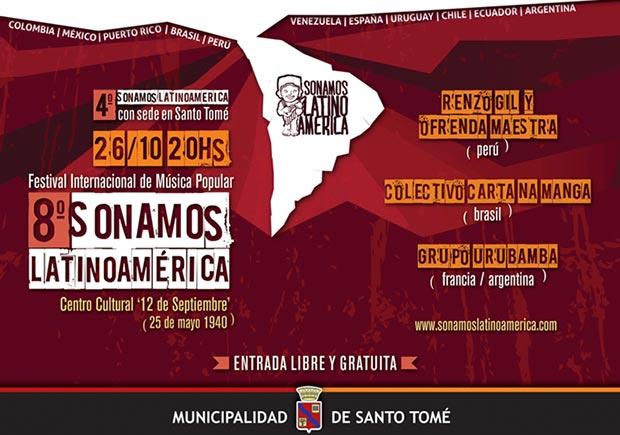 IV Festival Sonamos Latinoamérica Santo Tomé 2014