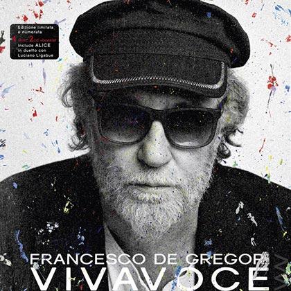 Portada del disco «Vivavoce» de Francesco De Gregori.
