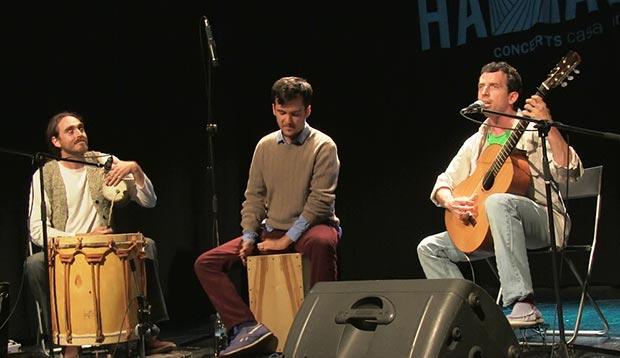 De izquierda a derecha: Aleix-Tobias, Juan Rodríguez Berbín y Juan-Quintero. © Joan Carles Martínez