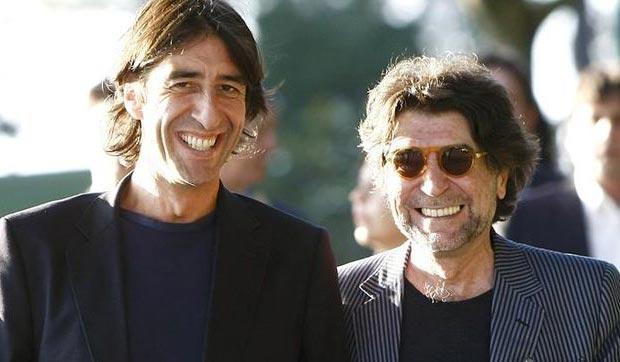 Benjamín Prado y Joaquín Sabina.