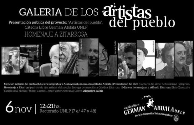 La Universidad de La Plata homenajeará a Alfredo Zitarrosa.