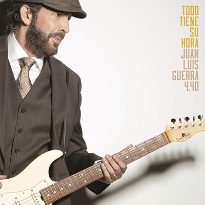 Portada del disco «Todo tiene su hora» de Juan Luis Guerra.