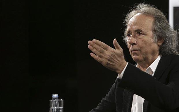 Joan Manuel Serrat en la presentación de «Antología desordenada». © EFE