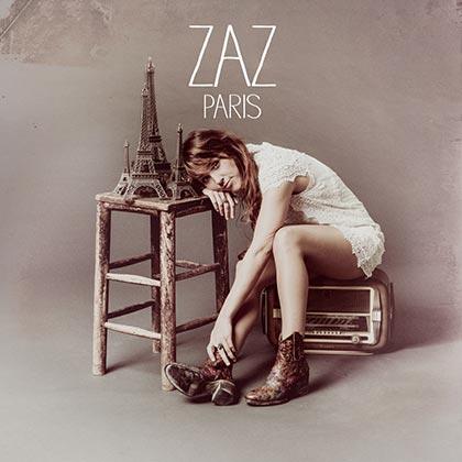 Portada del disco «Paris» de Zaz.
