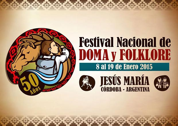 50 Festival Nacional e Internacional Nocturno de Doma y Folclore de Jesús María 2014.