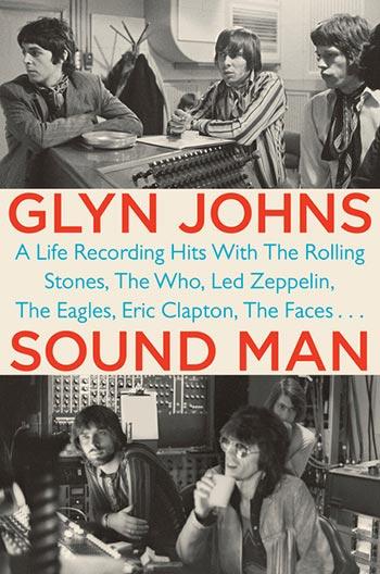 Portada del libro «Soul Man» de Glyn Johns.