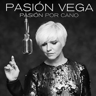 Portada del disco «Pasión por Cano» de Pasión Vega.