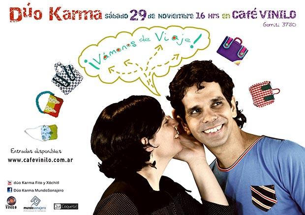 El cubano Dúo Karma celebra un «tiempo luminoso» en Buenos Aires.