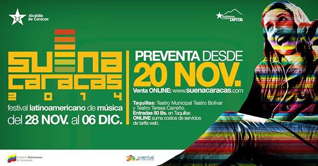 Festival Latinoamericano de Música Suena Caracas 2014