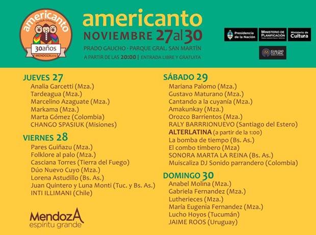 30 Americanto de Mendoza 2014