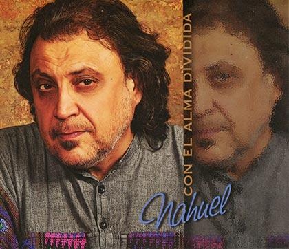 Portada del disco «Con el alma dividida» de Carlos Porcel «Nahuel».
