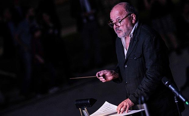 Horacio Salinas compuso y dirigió la banda sonora de «El húsar de la muerte». © Consejo Nacional de la Cultura y las Artes. Gobierno de Chile