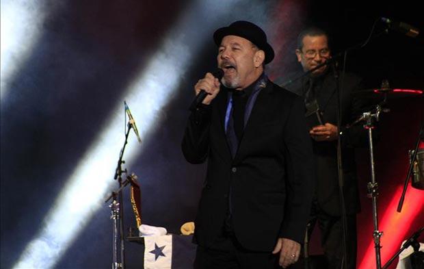 Rubén Blades en Quito. © EFE