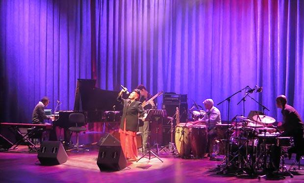Omara Portuondo en el Auditori de Barcelona. © Isabel Llano