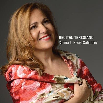 Portada del disco «Recital Teresiano» de Sonnia L. Rivas-Caballero.