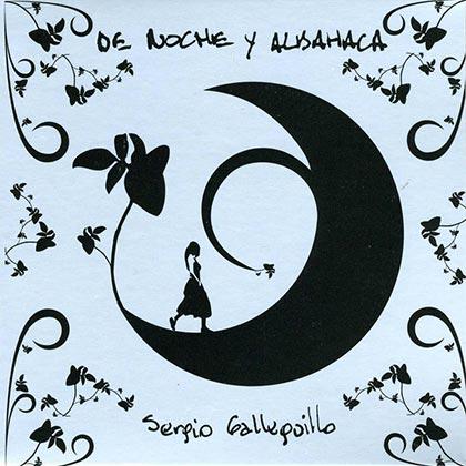 Portada del disco «De noche y albahaca» de Sergio Galleguillo.