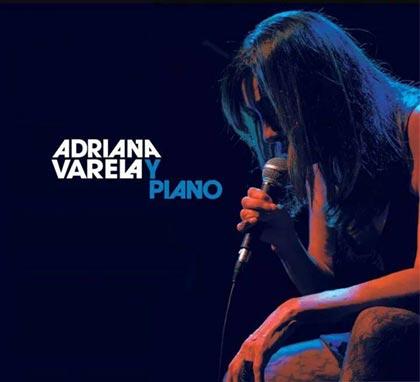 Portada del disco «Adriana Varela y piano» de Adriana Varela.