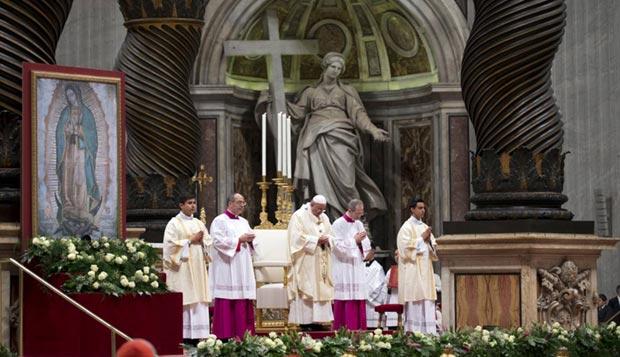 Músicos argentinos ofrecieron la «Misa Criolla» ante el papa Francisco.