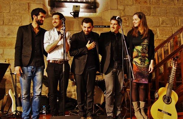 Alessio Arena y su banda. © Carles Gràcia Escarp