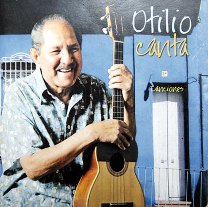 Portada de un disco de Otilio Domínguez.