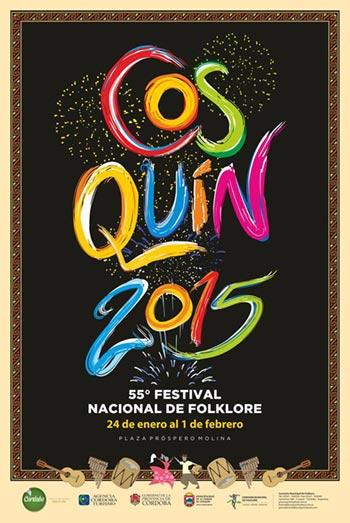 55 Festival Nacional de Folklore Cosquín 2015