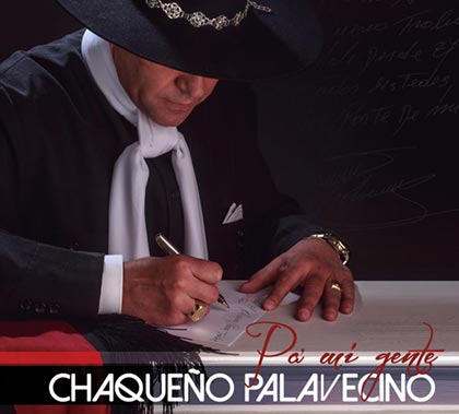 Portada del disco « Pa' mi gente » del Chaqueño Palavecino.