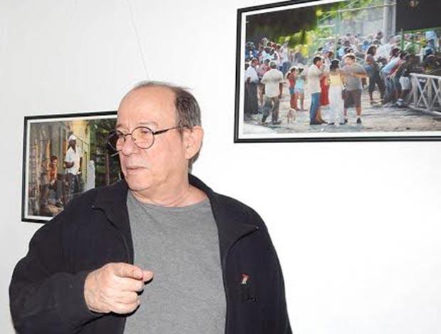 Hasta el próximo 20 de enero del 2015 se expone una muestra fotográfica de Silvio Rodríguez en la sede habanera de la Alianza Francesa. © Adán Iglesias Toledo/Juventud Rebelde