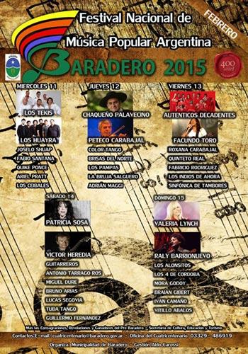 41 Festival de Baradero 2015