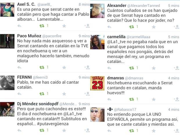 Serrat enciende las redes sociales por cantar en catalán en la televisión pública española
