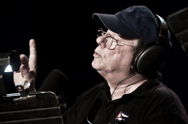 Silvio Rodríguez en concierto en el Parqueo del Estadio Latinoamericano. © Iván Soca