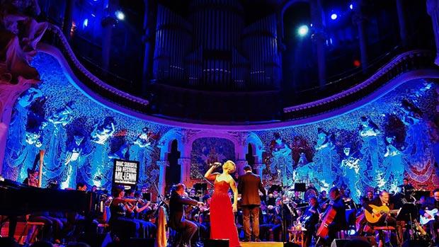 Pasión Vega en el Palau de la Música de Barcelona. © Carles Gràcia Escarp