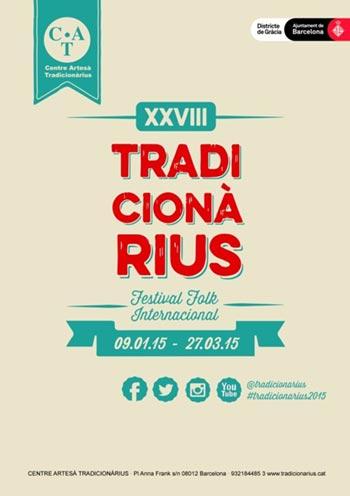 XXVIII Festival Folk Internacional Tradicionàrius 2015.