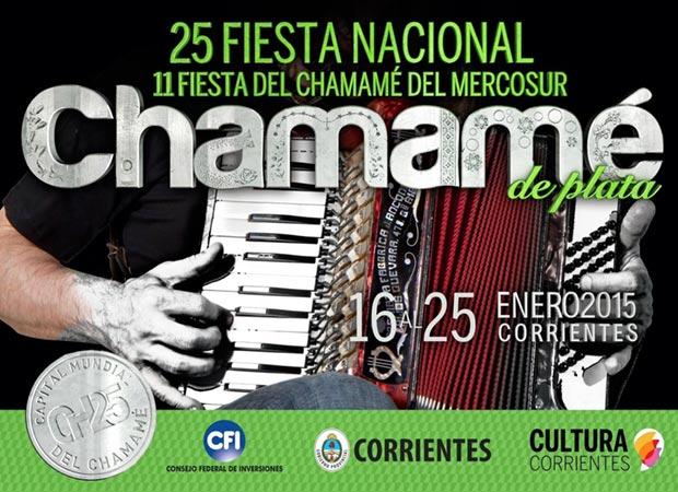 25 Fiesta Nacional del Chamamé 2015