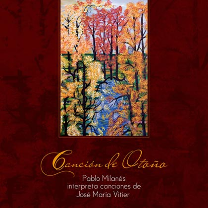 Portada del disco «Canción de otoño» de Pablo Milanés y José María Vitier.