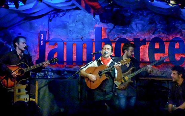 Raúl Rodríguez presentó «Razón de son» en la sala Jamboree de Barcelona el pasado 10 de enero. © Federico Francesch