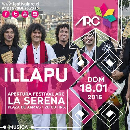 IV Festival de las Artes de Coquimbo ARC 2015