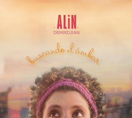 Portada del disco «Buscando el ámbar» de Alin Demirdjian.