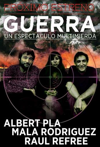 «Guerra», el nuevo espectáculo de Albert Pla