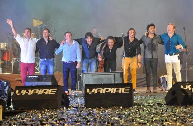 Los Nocheros y Los Alonsitos en la Fiesta Nacional del Chamamé.