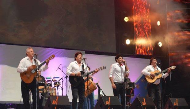 Los Carabajal en la tercera luna de Cosquín 2015. © Aquí Cosquín