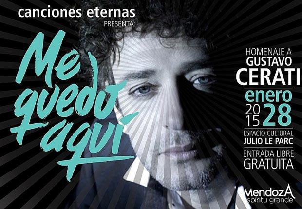 «Me Quedo Aquí», Gustavo Cerati