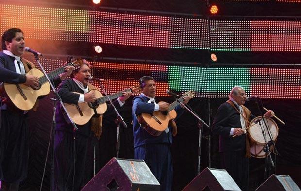 Los Manseros Santiagueños. © Gabriela Lescano/Télam