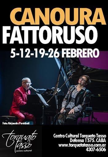 Hugo Fattoruso estrena «Locas pasiones» junto a Laura Canoura.